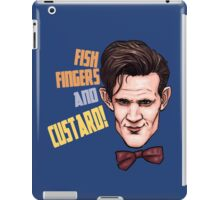 Fishfingers and Custard iPad Case/Skin
