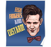 Fishfingers and Custard Poster