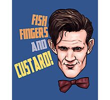 Fishfingers and Custard Photographic Print