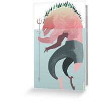 First Monster Greeting Card