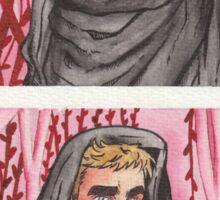 Captain Kirk and Doctor McCoy - Star Trek Sticker