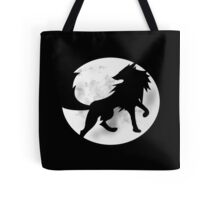 Wolf Silhouette Tote Bag