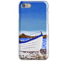 Donegal Dingy (acrylic on canvas) iPhone Case/Skin
