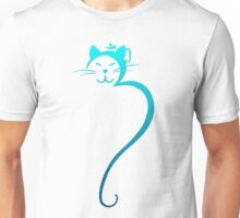 Om Kitty - Turquoise Unisex T-Shirt