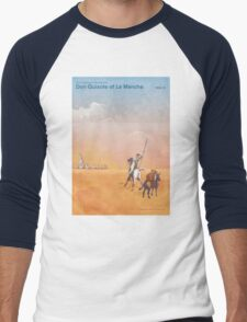 Don Quixote - Miguel de Cervantes Men's Baseball ¾ T-Shirt