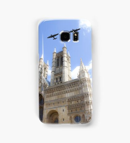 Bombers over the Cathedral Samsung Galaxy Case/Skin