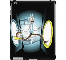 Rick and Porty - shirt phone and ipad case iPad Case/Skin