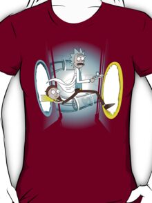 Rick and Porty - shirt phone and ipad case T-Shirt