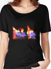 Blown Fuse - Logo Women's Relaxed Fit T-Shirt