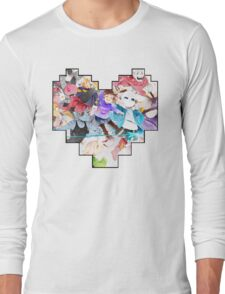 Undertale Heart Long Sleeve T-Shirt