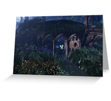 Fairy Hideaway at Midnight Greeting Card