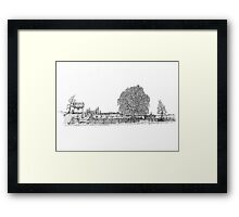 Willow Road Framed Print