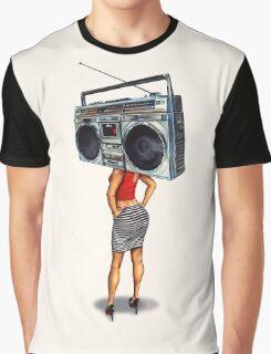 Radio Girl Graphic T-Shirt
