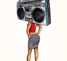 Radio Girl by Kelly  Gilleran