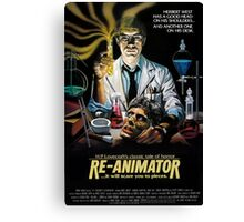 Re-Animator Poster Canvas Print