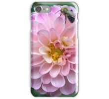 .Dahlia With Bee. iPhone Case/Skin