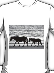 Walking the Beach T-Shirt