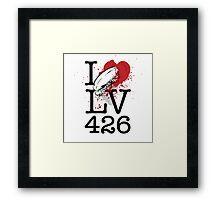 I <3 LV-426 Framed Print