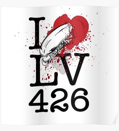 I <3 LV-426 Poster