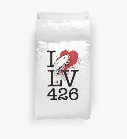 I <3 LV-426 Duvet Cover