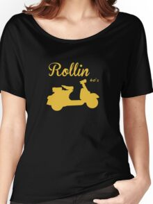 RETRO VESPA Women's Relaxed Fit T-Shirt