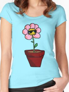 Cool Flower Women's Fitted Scoop T-Shirt
