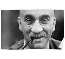 Watercolour Alf Garnett Poster