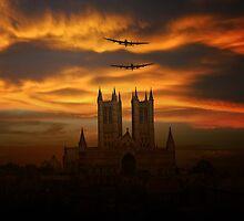 Lincolnshire Bombers by J Biggadike