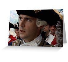 Commodore Norrington Greeting Card