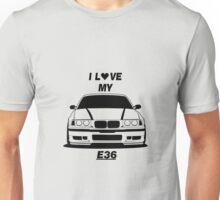 BMW E36 Unisex T-Shirt