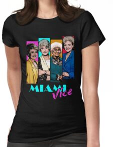 Miami Vice Womens Fitted T-Shirt