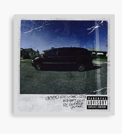 Kendrick Lamar Cover Canvas Print