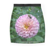 .Dahlia With Bee. Mini Skirt