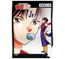 Yu Yu Hakusho - Koenma Poster