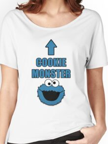 Cookie Monster Funny Shirt Women's Relaxed Fit T-Shirt