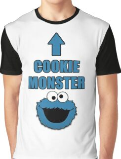 Cookie Monster Funny Shirt Graphic T-Shirt