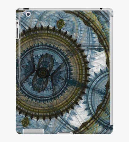 Blue machine iPad Case/Skin