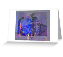 Allegory  009 25 09 Greeting Card
