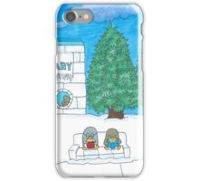 Penguin at the Library  iPhone Case/Skin
