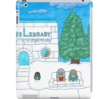 Penguin at the Library  iPad Case/Skin