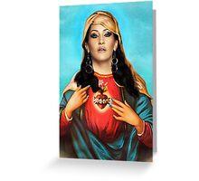 Holy Visage Greeting Card