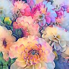 Sweet Dahlias by Bunny Clarke