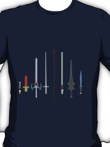 Iconic Cult Weapons - Minimalist Style T-Shirt