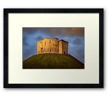 Cliffords Tower Framed Print
