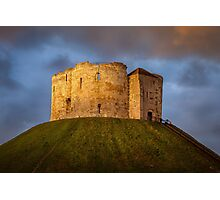 Cliffords Tower Photographic Print