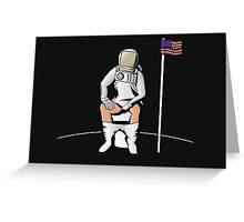 Meditation on the Moon Greeting Card