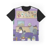 Penguins at the Movies Graphic T-Shirt