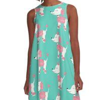 Pink Poodle A-Line Dress