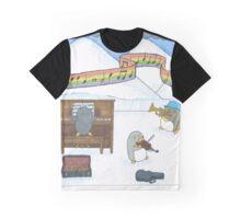 Penguin Musicians  Graphic T-Shirt