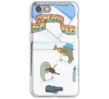 Penguin Musicians  iPhone Case/Skin